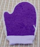 Горячая продавая перчатка ванны хлопка сизаля