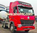 아프리카에서 에어 컨디셔너 최신 판매를 가진 6X4 371HP Sinotruk HOWO 트레일러 트럭