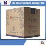 Коробка Kraft дешевой Corrugated коробки бумажная для упаковывать вина