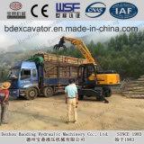 Pequeño cargador de madera de la rueda de 8.5ton / cargador de la caña de azúcar para la venta