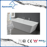 浴室の正方形のアクリルの支えがない浴槽(AB1506W-1500)