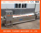 Máquina de blanqueo de la fruta vegetal automática, máquina del blanqueador, precocinando la máquina, máquina de blanqueo Tstd-80 de la ensalada