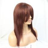 150% 조밀도 브라질 머리 Glueless 가득 차있는 레이스 가발 또는 정면 레이스 가발