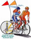 自転車のフラグのマウンテンバイクのフラグ(NF15P07008)