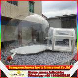 [بفك] أو [تبو] مادّيّة واضحة قابل للنفخ قبة خيمة