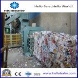 Ahorro de energía de residuos de cartón de equipo de prensa de balas