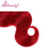 O cabelo de Remy da cor de Ombre da alta qualidade tece o cabelo humano da onda malaia do corpo