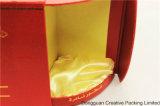 Crear el rectángulo de empaquetado del perfume para requisitos particulares árabe de papel del lagarto