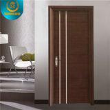 Portello di legno composito solido di stile moderno (PVC-080)