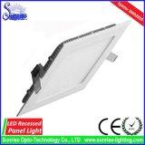 24W nehmen Quadrat vertiefte LED-Panel-Deckenleuchte ab