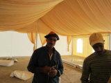 Più nuova tenda di tela di canapa resistente