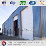 Vorfabrizierte helle Stahlrahmen-Werkstatt