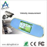 5 pulgadas de monitor de espejo retrovisor del coche con la navegación del GPS Android