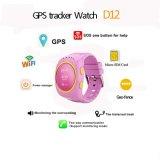 GPS van jonge geitjes het Horloge van de Drijver met de Groef van de Kaart SIM (D12)