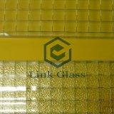 6-7mm связанный проволокой сделанный по образцу рисунок стекло с AS/NZS 2208