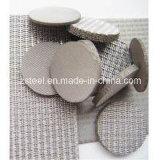 engranzamento de fio do aço 50-500mesh 304 inoxidável para o elemento de filtro