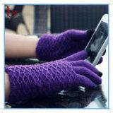 新しい編む電話柔らかいタッチスクリーンの手袋卸しで