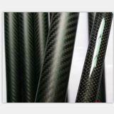 Tube de fibre d'armure/carbone des tubes 3k de fibre de carbone, tube carré