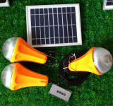 Cargador móvil solar de la iluminación/sistema de iluminación casero solar