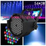 Alta qualità LED Stage PAR Light con CE per Stage Performance 54*3W