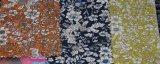 O fio tingiu laços impressos florais da tela do algodão da boa qualidade
