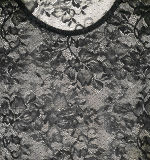 Il modo copre la signora sexy T-Shirt del merletto di nylon di lunghezza del manicotto di estate