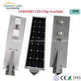Lámpara solar integrada ligera solar al aire libre del jardín de /Solar de la luz de calle 6W-100W de IP65 LED con la batería de litio