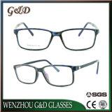 Bâti optique de mode d'Ultem de monocle en plastique populaire de lunetterie avec la tempe en aluminium E024
