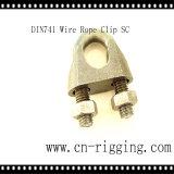 目のループ接続のための熱い販売ワイヤーロープクリップDIN741