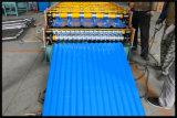 Heißer Verkaufs-Doppelschicht-Dach-Fliese-Rolle, die Maschine mit Händlerpreisen bildet