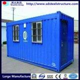 Дом контейнера офиса передвижного дома полуфабрикат