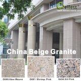 Wit / grijs / zwart / rood / roze / bruin / geel / beige gepolijst graniet Tegel voor Floor en Wall Bekleding