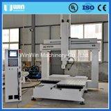 4axis1618 Madera Router CNC Máquina de Grabado para la Fabricación Modelo