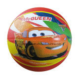 Chirldrenのための漫画デザインバスケットボールのおもちゃ