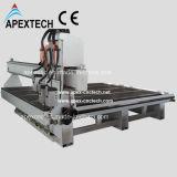 Деревянный маршрутизатор/автомат для резки/гравировальный станок CNC (APEXTECH 2030)