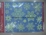 크리스마스를 위한 빛난 장신구 Windows 스티커