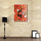 Декоративный цветок для украшения стены