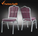Chaise d'empilage en aluminium pour salle de banquet et marier (YC-ZL22)