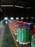 Le roulis en acier des bobines PPGI de PPGI a enduit le roulis d'une première couche de peinture de fer pour l'industrie du bâtiment