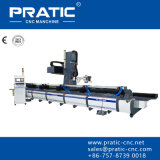 Cnc-Aluminiumprofil-Ausschnitt-Maschine Center-Pratic-PC-CNC6000