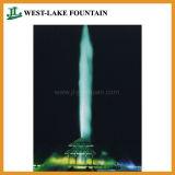 높은 살포 170m 길이 큰 뜨 호수 샘의 수백