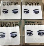 La nueva edición Kyshadow del día de fiesta de Kylie de la llegada 9 colores impermeabiliza y gama de colores duradera del sombreador de ojos
