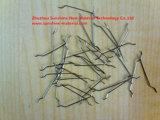Afrouxar a fibra enganchada do aço da extremidade
