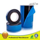 El doble auto de la espuma del PE de la película azul de alta densidad echó a un lado/la cinta de la cara