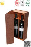 Caja de cuero plegable / Vino plegable Box (MX050)