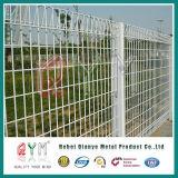 Brc多彩なロール上の金網のFence/PVCによって塗られる溶接された金網のBrcの塀