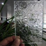 Glace givrée, givrant la glace pour la glace décorative de salle de bains d'art,