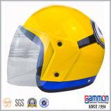 ABS半分の表面オートバイのヘルメット(OP212)