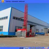 Sc200/200 Consrtuction 건물을%s 두 배 감금소 건축 기중기 또는 건축 호이스트