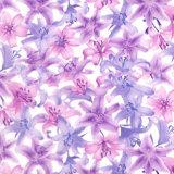Пленка печатание перехода воды красивейших цветков ширины Tsautop 0.5m/1m гидрографическая